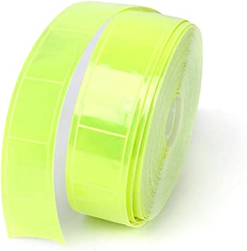 33ft White Reflective Conspicuity Tape Strip Safety Vest Armbands Warning