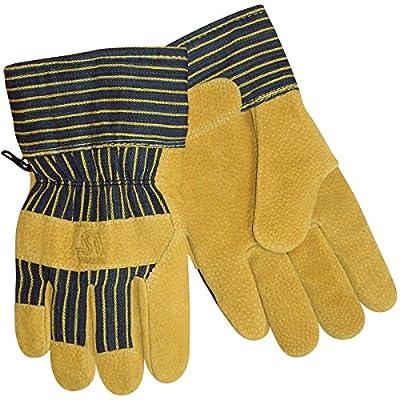 Steiner P2489-L Winter Work Gloves, Brushed Pigskin Palm, Heatloc Lined, Cuff, Large