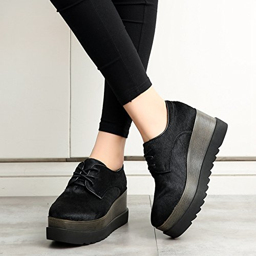 CYBLING Womens Winter Thick Height Increasing Shoes Fashion Sneaker hmztaN4qgk