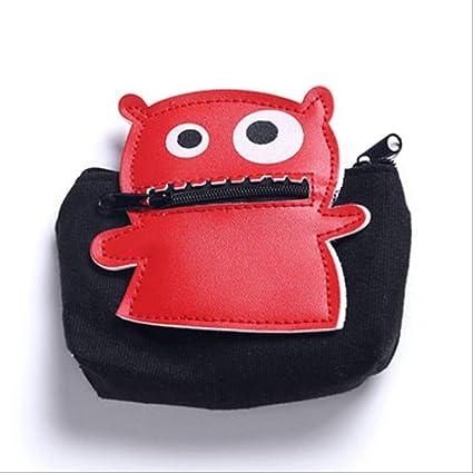 Monedero FSJF Monederos creativos extraíbles Little Monsters ...