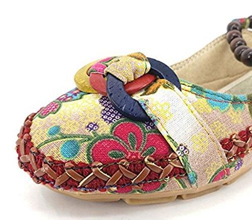 GFONE - Zapatos de tacón  mujer Flor