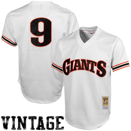 Throwback Mesh (MLB Mitchell & Ness Matt Williams San Francisco Giants 1989 Authentic Throwback Mesh Batting Practice Jersey - White (Medium))