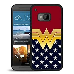 Comics Wonder Women Black Abstract Personalized Picture HTC ONE M9 Case