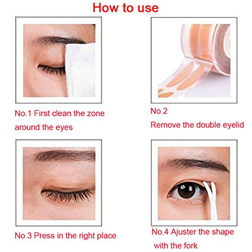 Eye tape double eyelid tape invisible eye stickers natural waterproof eye  tape adhesive magic Charm