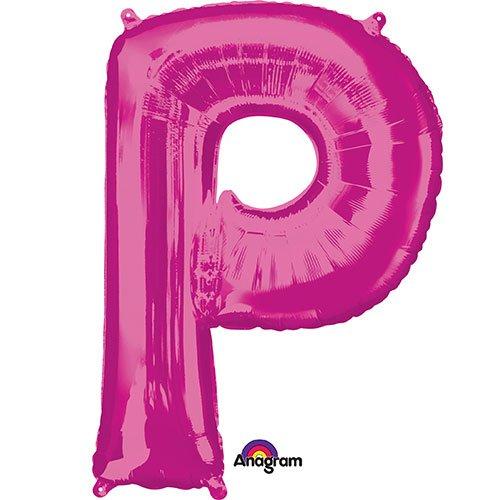 Anagram Balloons 35432 Letter P Foil Mylar Balloon, 34