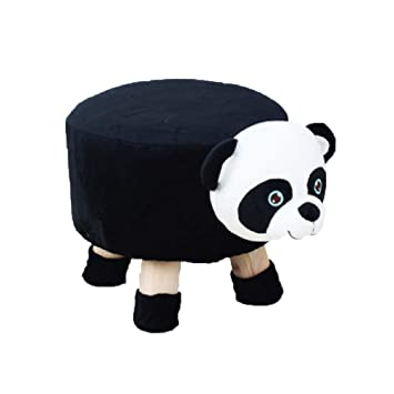 Marvelous 24X7 Emall Panda Childrens Favourite Animal Stool Chair Ottoman Foot Rest Kids Panda Gmtry Best Dining Table And Chair Ideas Images Gmtryco