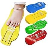 Yuehuam Kids Foot Measuring Device Infant Toddler Baby Foot Measurer Gauge Shoes Size Measuring Ruler Tool