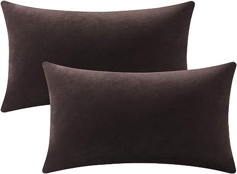 Choice of Colours Home Decor Velvet Rectangular Cushion Soft Furnishings