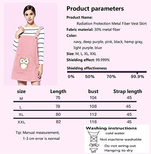 360 Costume La L Abito In Vestito Gravidanza Protezione Radiazione Delle Huixin Le Può Di Dalle Maternità Computer Pink E Apparecchi Donne Incinte Radiazioni Usura Scudo Per zCx8Uq