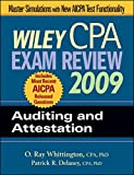 img - for Wiley CPA Exam Review 2009: Auditing and Attestation (WILEY CPA EXAMINATION REVIEW) book / textbook / text book