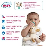 Luv Your Baby Dog Pacifier with Stuffed