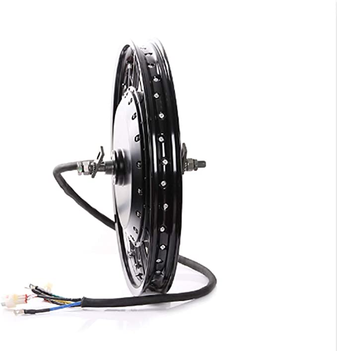 NBpower Hydraulic disc Brake Matching Front Wheel QS v3 273 Motorcycle 18 19 72v 8000W Rear hub Motor Wheel with tire,Sabvoton Controller with Bluetooth