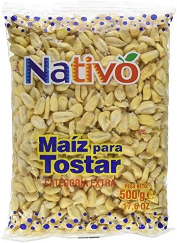 Nativo - Maíz para Tostar - Categoría Extra - 500 g - [Pack de 3]: Amazon.es: Alimentación y bebidas