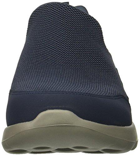 Blu Go Navy Nvgy Sneaker Privy Grey Skechers Max Walk Infilare Uomo 6gq1O0x