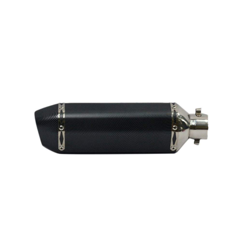 Universal Motorcycle Exhaust Muffler Pipe Carbon Fiber Tail Fashion Design Style Refitting Exhaust Pipe