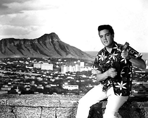 Globe Photos ArtPrints Film Still Featuring Elvis Presley In