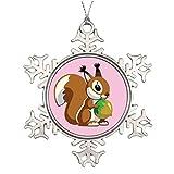 Best KURT ADLER Cat Trees - Metal Ornaments Tree Branch Decoration cartoon squirrel Xmas Review