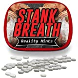 Stank Breath Mints – Funny Gag Gift for Teens Weird Gifts White Elephant Ideas Gifts for Guys Wintergreen Breath Mints Stocking Stuffers for Adults Funny Friend Gift