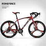 51BUtYmKgKL. SS150 JXH Bici di Montagna piegante della Bicicletta per Adulti Uomini e Donne, ad Alta Acciaio al Carbonio della Sospensione…