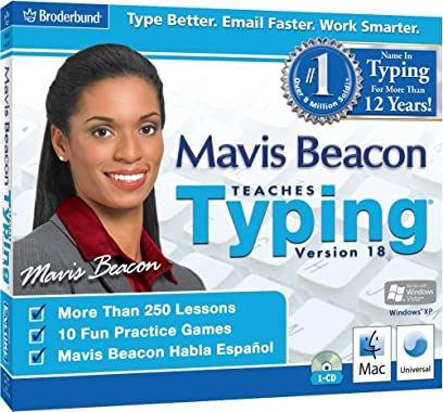 Mavis Beacon Teaches Typing 18 fine