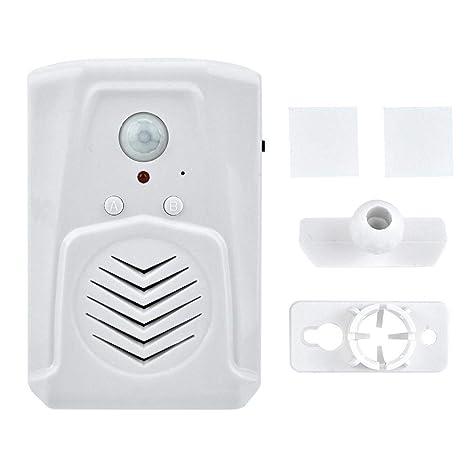 Alarma del Sensor,USB/Batería Sensor de Movimiento con ...
