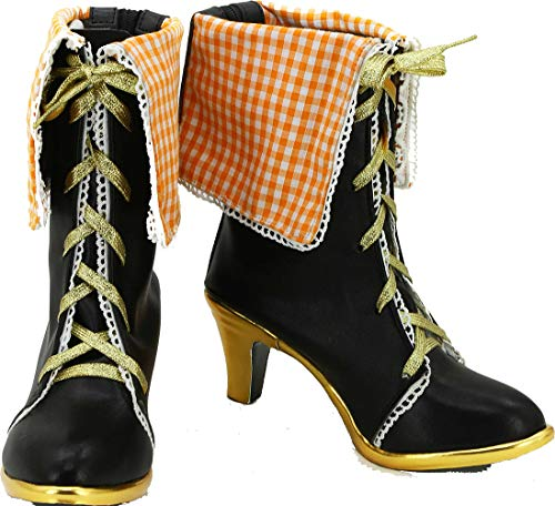 Cosplay Boots Shoes for Love Live Halloween Nozomi Tojo Black ()