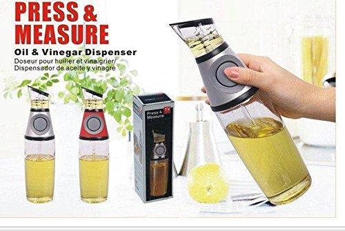Amazon.com: Buttoned Oil and Vinegar Dispenser Cum Measurer: Kitchen & Dining