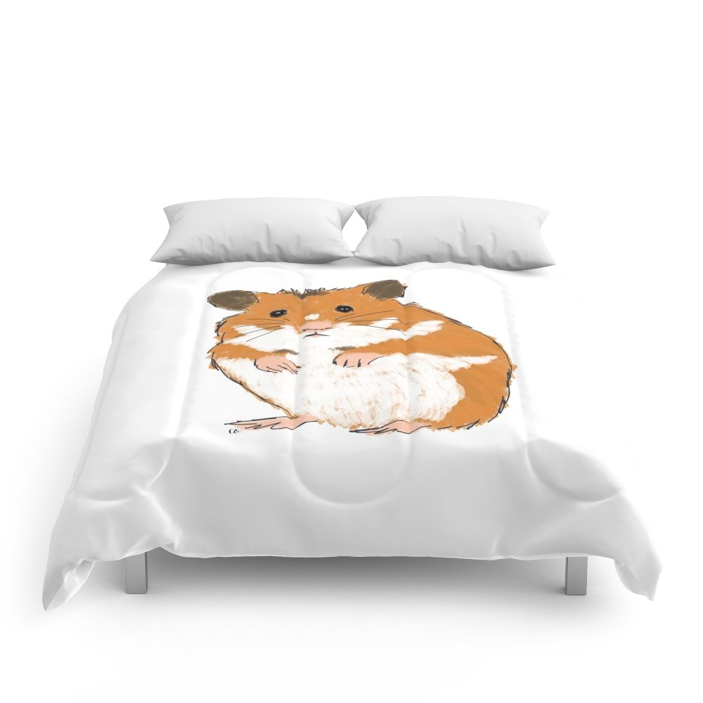 Society6 Hamster Comforters Queen: 88'' x 88''