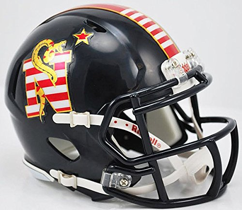 Riddell NCAA Navy Midshipmen Dont Tread On Me Speed Mini Football Helmet