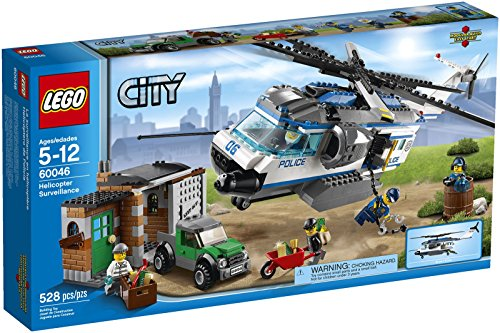 LEGO City Police Helicopter Surveillance 60046