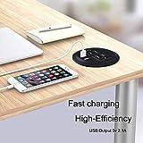 3inch Desktop Power Grommet Desk Outlet