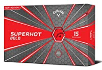 Callaway Golf 2018 Superhot Bold Matte Golf Balls (Pack of 15)