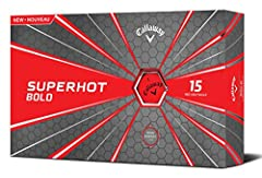 The new Superhot Golf Ball is a super long distance ball that's perfect for golfers who want to hit the ball a lot farther. Our proven aerodynamics promotes low drag and optimal lift for a strong flight that keeps the ball in the air longer f...
