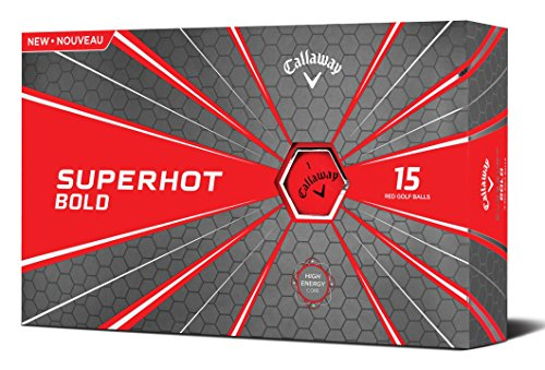 Callaway Golf Superhot Bold Matte Golf Balls Pack of 15