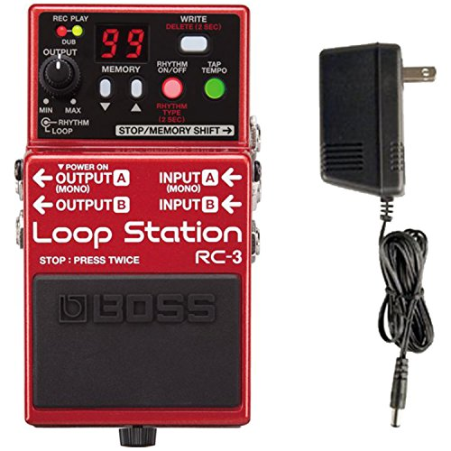 RC 3 Station Stomp Power Supply
