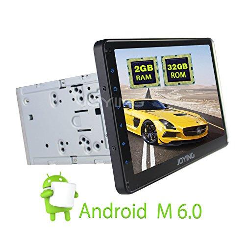 JOYING 10.1' Universal 2GB Android 6.0 Car GPS Navigation System Bluetooth Car Stereo Head Unit Aftermarket 2 Din Car Radio for Ford Cadillac Lexus Mazda etc