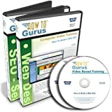 How to Build a Website plus SEO Search Engine Optimization Tutorial Training on 2 DVDs