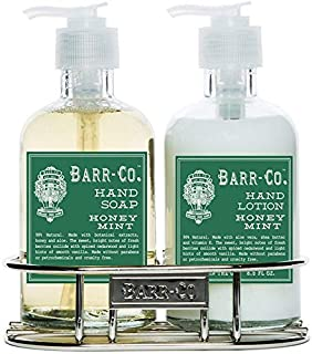 product image for Barr Co Honey Mint Lotion and Soap Duo with Holder