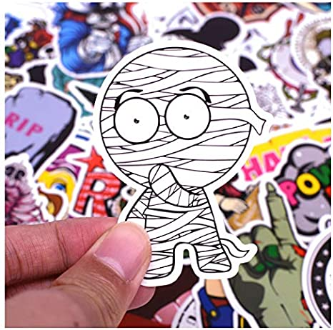 50pcs/pack A1 Anime Sticker Kids Toy Cool Stickers For DIY ...