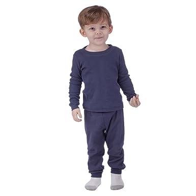 9914da72f Amazon.com  Zero Degree Infant Baby 2 PC Thermal Underwear Set  Clothing