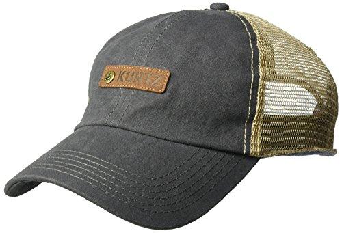 A. Kurtz Men's Match Trucker Basebal Cap, Gunmetal, OSFA ()