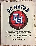 img - for De Matha High School Offensive Notebook book / textbook / text book