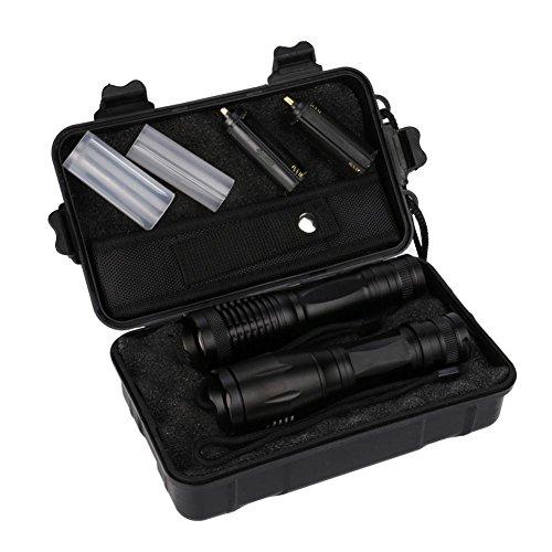 Portable Flashlightsy562x 5000LM X800Portable Shadowhawk lampe torche tactique LED de qualité militaire G700lampe torche