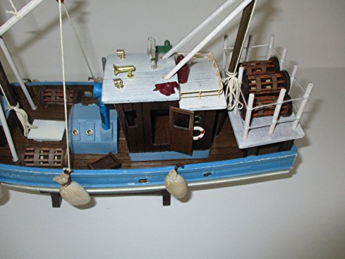 Dazzle Dees Wood Model Fishing Boat by Dazzle Dees (Image #2)