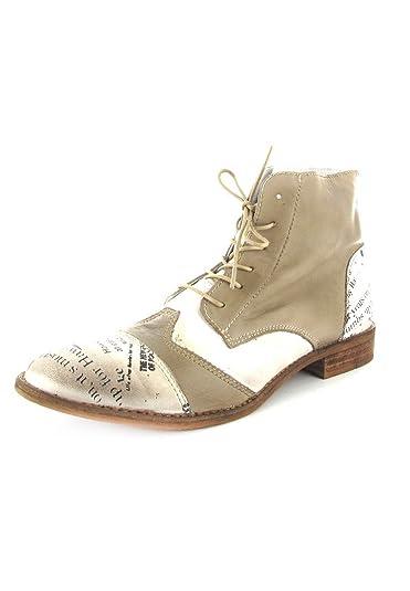 Sale Chaussures En Bottines Pour Marron Grande Matelas Femme Mustang BoQdCxWre