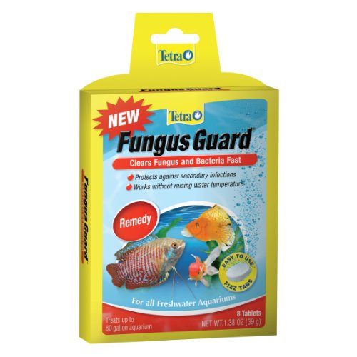Tetra Fungus Guard Aquarium Remedy, Easy to Use Fizz Tabs, Pack of - 8 Tabs Fungus Clear