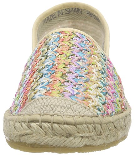 Espadrillokset 999 Damen Rakastan Multicolour monivärinen Mehrfarbig Naisten Espadrille Makeiset Ilc nHwnFqOX