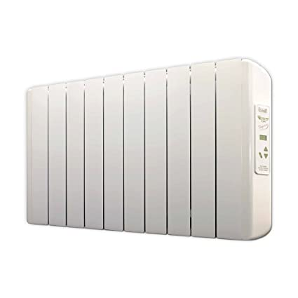farho Eco X - Radiador Eléctrico de bajo Consumo 1250 W Digital Programable - Emisor Térmico