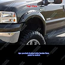 APS Reinforced ABS Fender Flares Riveted 4Pcs 99-07 Ford F-250/F-350 Super Duty