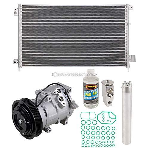 A/C Kit w/AC Compressor Condenser & Drier For Honda Accord 2003-2007 - BuyAutoParts 60-82468CK - Compressor Accord Honda A/c